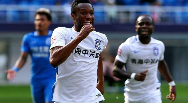 John Obi Mikel ends goal drought after scoring againstGuangzhou R&F