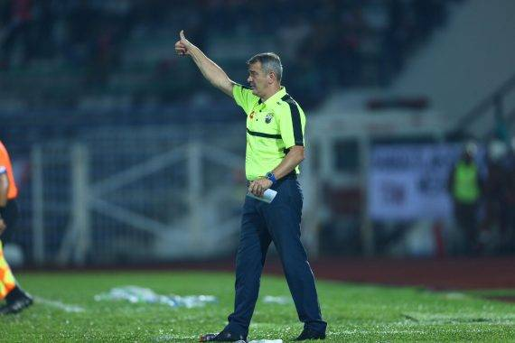 Mehmet Durakovic blames luck for Perak's Malaysia FA Cup exit