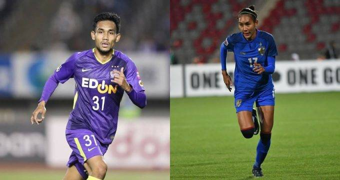 Thailand WNT striker Taneekarn Dangda: My brother Teerasil teaches me to play football like a tiger