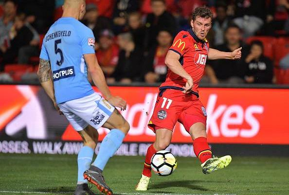 Danish winger Johan Absalonsen leaves Adelaide United