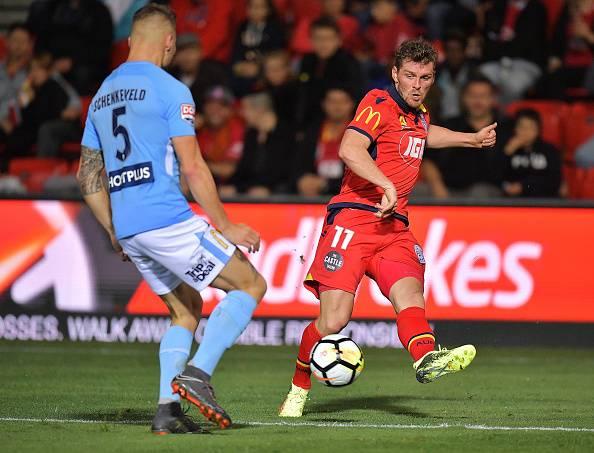 Danish winger Johan Absalonsen leaves Adelaide United
