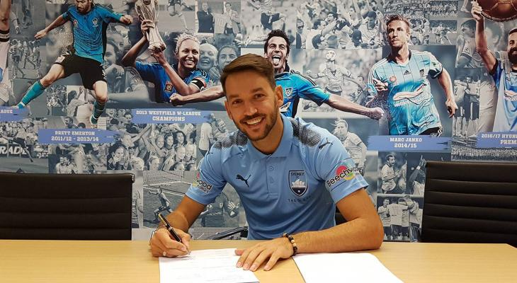 Milos Ninkovic extends contract with Sydney FC