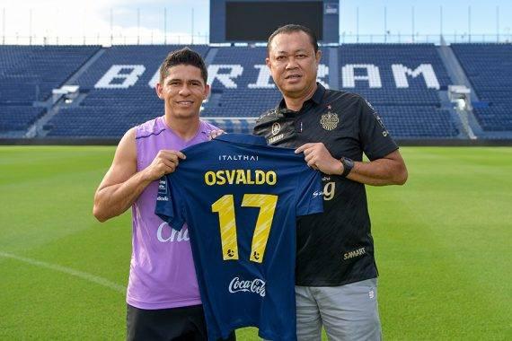 Buriram United sign former Brazil international Osvaldo Filho