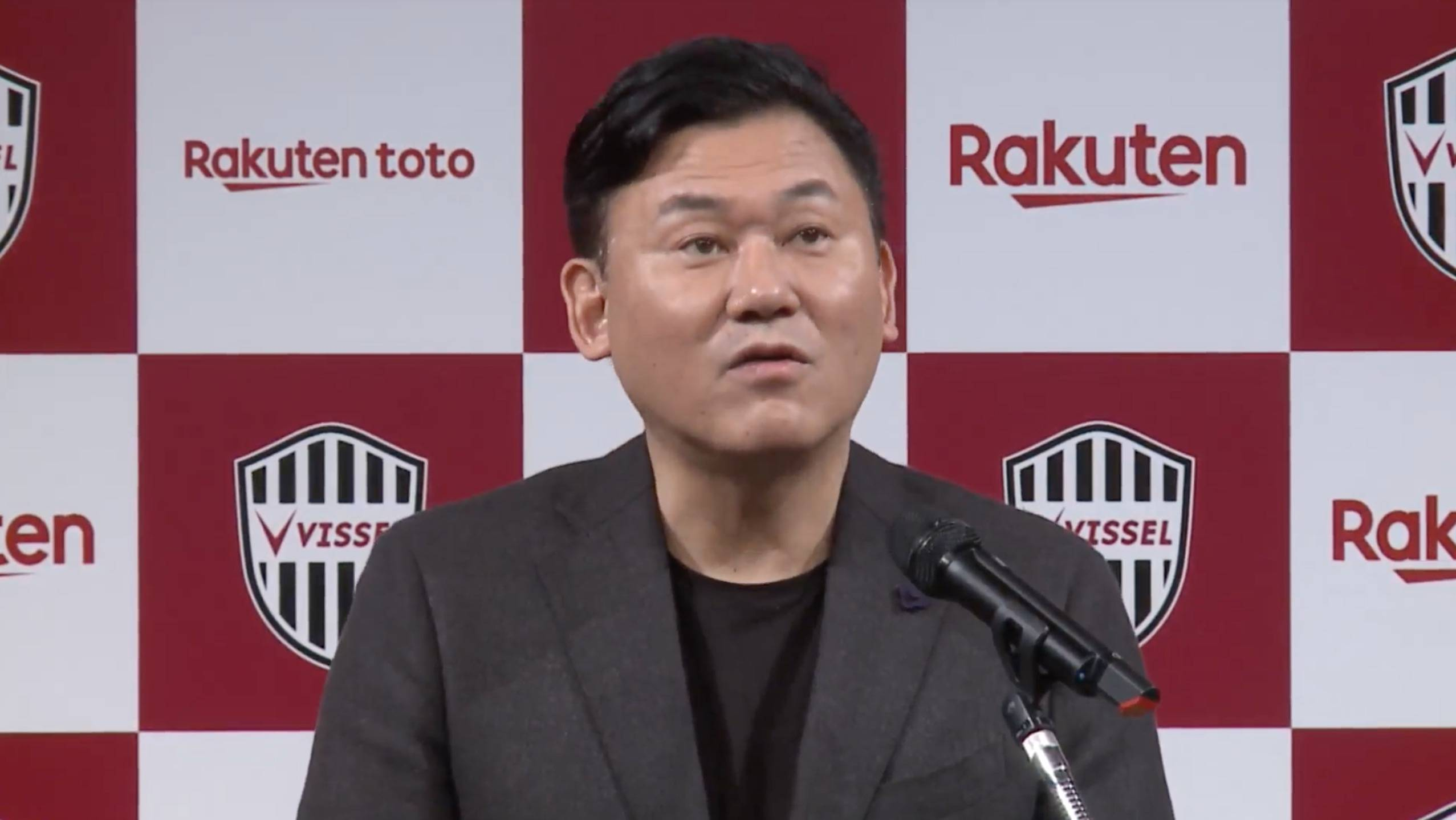 Vissel chairman Hiroshi Mikitani: Iniesta's DNA will inspire Japanese football