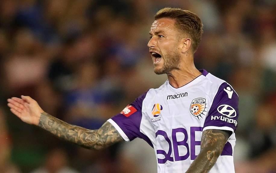 Former A-League Golden Boot winnerAdam Taggart joins Brisbane Roar