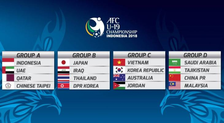 Korea Republic to square off Australia in 2018 AFC U-19 Championship group stage