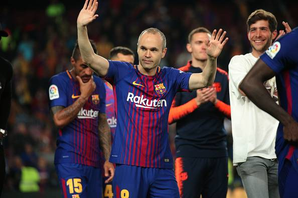 Andres Iniesta to choose between China and Japan for his career's next move