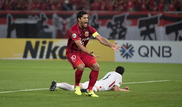 Hulk hits double but Shanghai SIPG were knocked out of the AFC Champions League