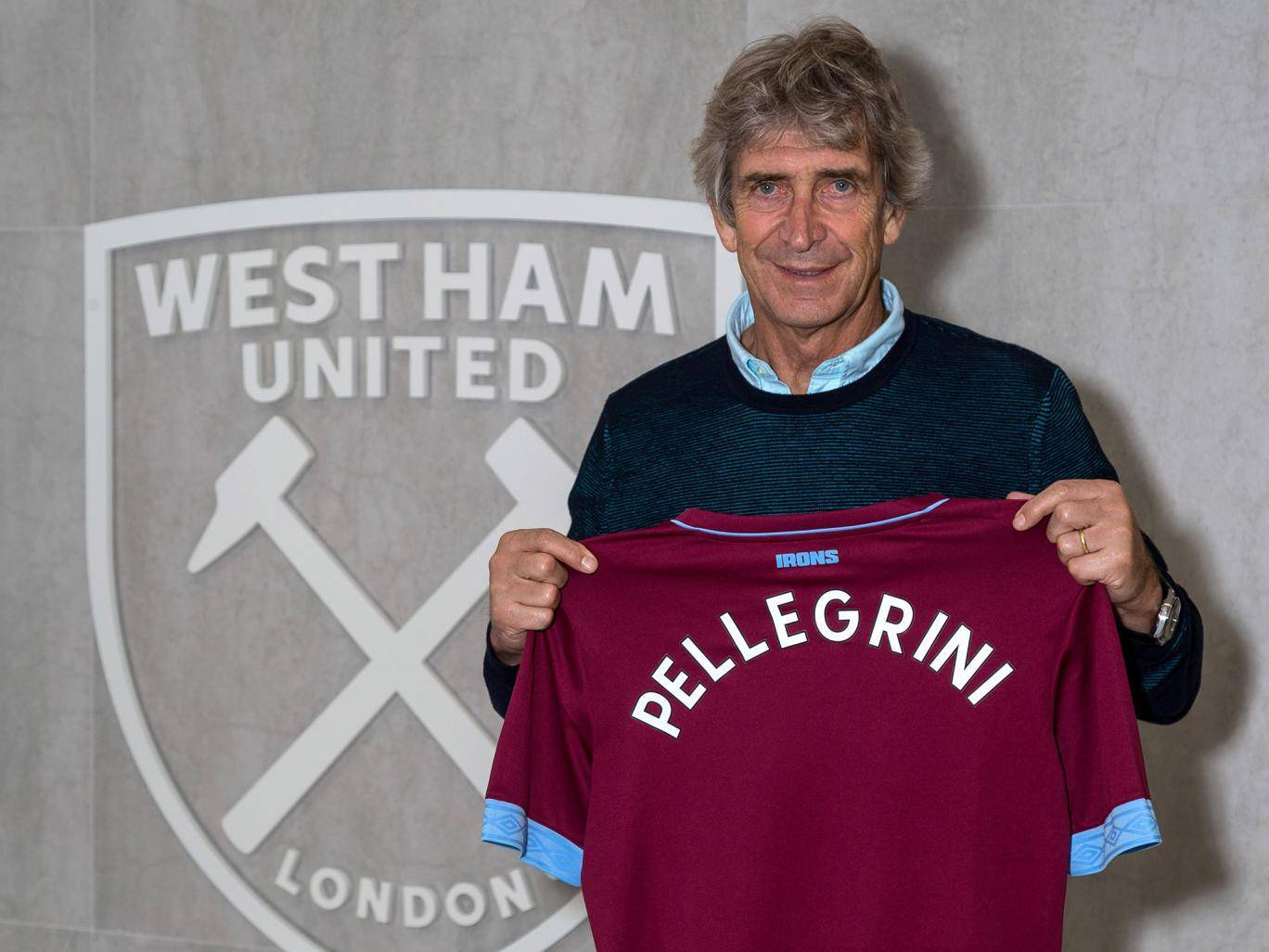 Manuel Pellegrini appointed as new West Ham coach