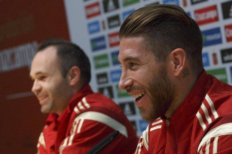 Sergio Ramos: Maybe I'll meet Iniesta in China