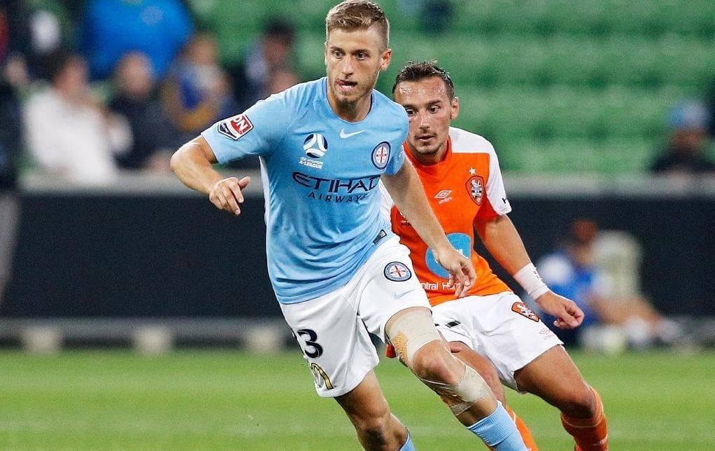 Brisbane Roar sign Melbourne City midfielder Stefan Mauk