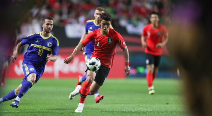 South Korea's youngster Hwang Hee-chan: I am in fact confident; we prepared a lot for the match against Sweden