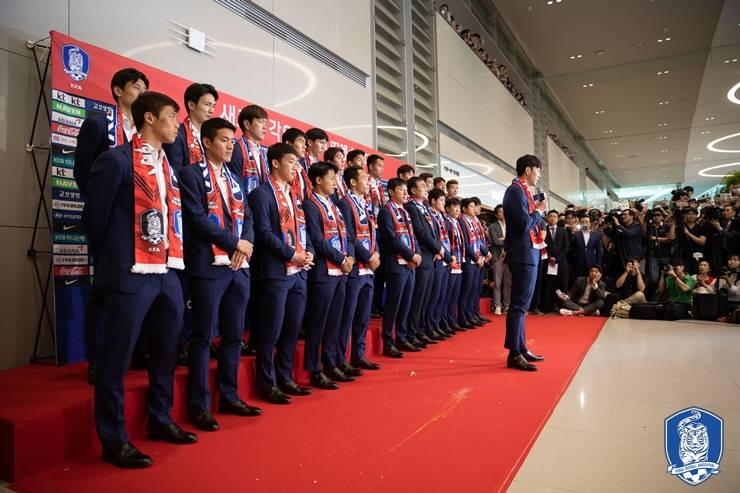 Eggs thrown at South Korea squad at home