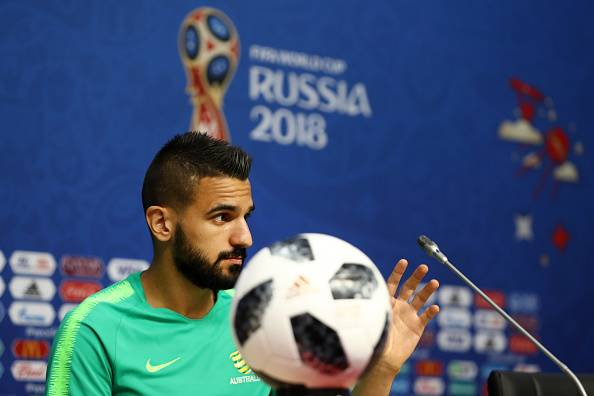 Australia defender Aziz Behich confident of getting three points from Denmark