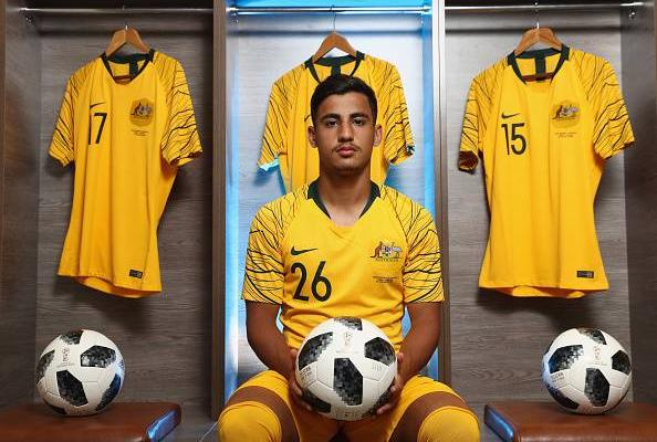 Australian Daniel Arzani will be youngest player at 2018 World Cup