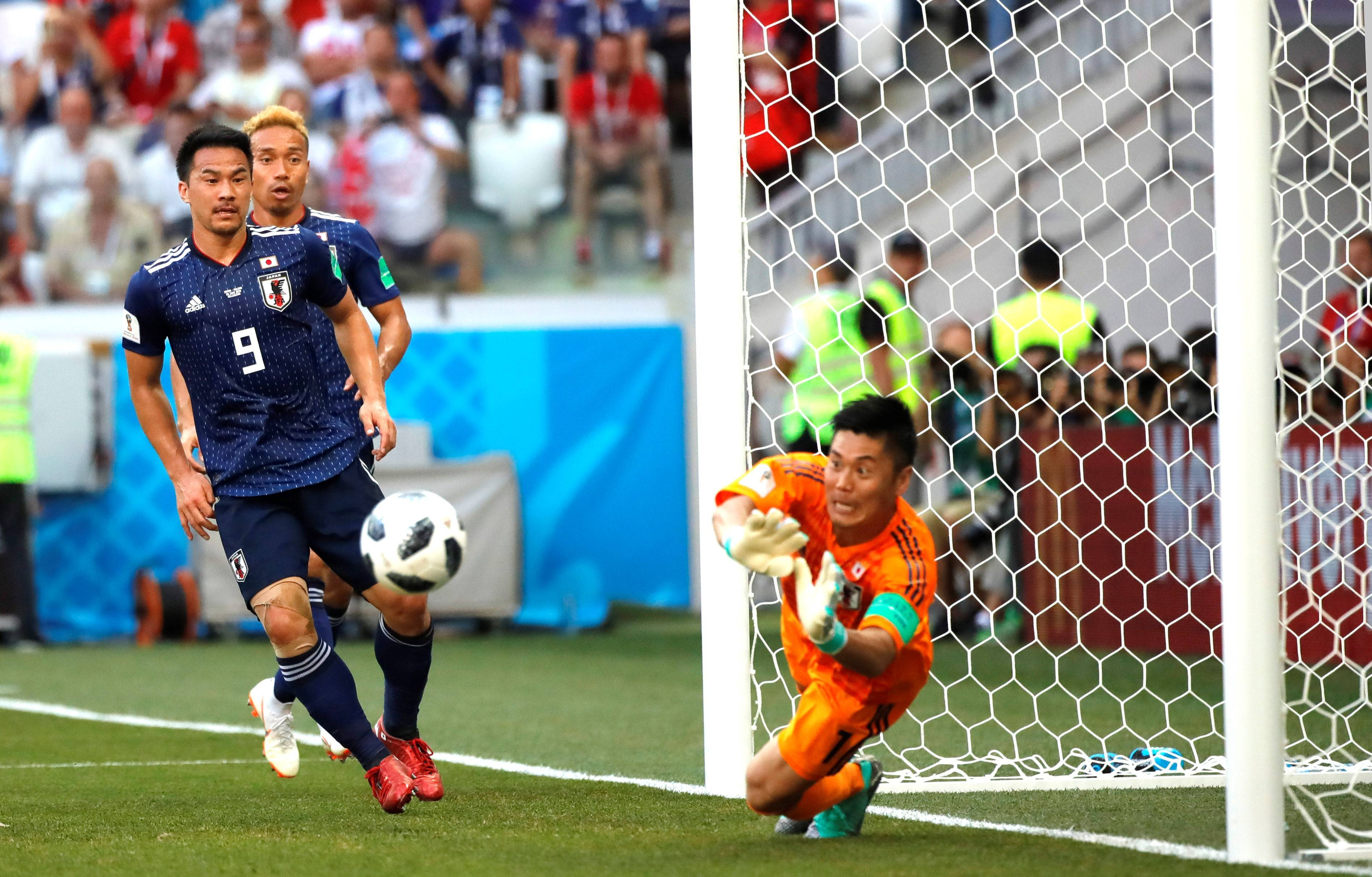 Fair play points send Japan to knockout stage despite Poland loss