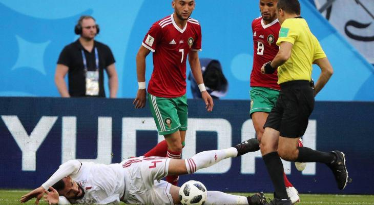 Iran defender Roozbeh Cheshmi out of World Cup due to training injury