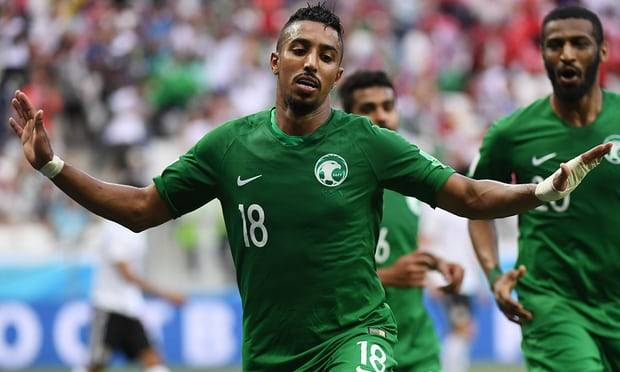Late winner of Salem Al Dawsari gives Saudi Arabia a victory over Egypt