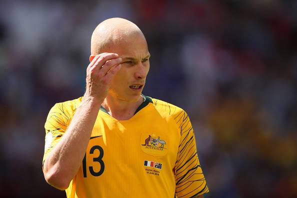 Aaron Mooy: Australia need a win over Denmark to reach Round of 16