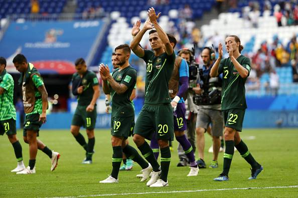 Australia keep their hope alive following 1-1 draw to Denmark