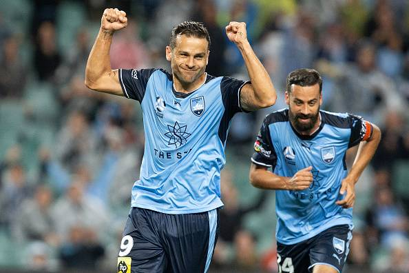 Golden Boot winner Bobo extends contract with Sydney FC
