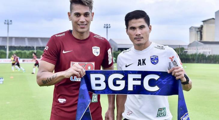 Brazilian striker David Bala joins Bangkok Glass on a loan deal