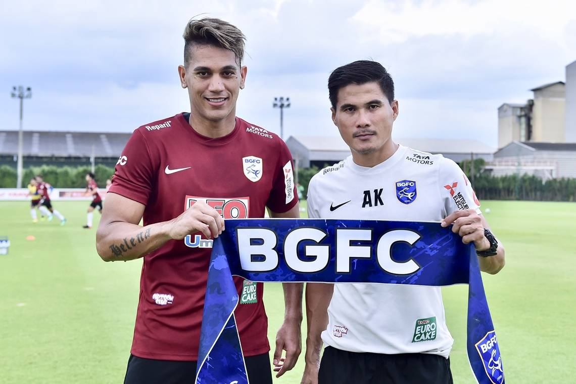 Brazilian striker David Bala joins Bangkok Glass on a loan deal