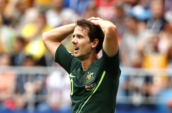 Australia winger Robbie Kruse faces death threats over performance at World Cup