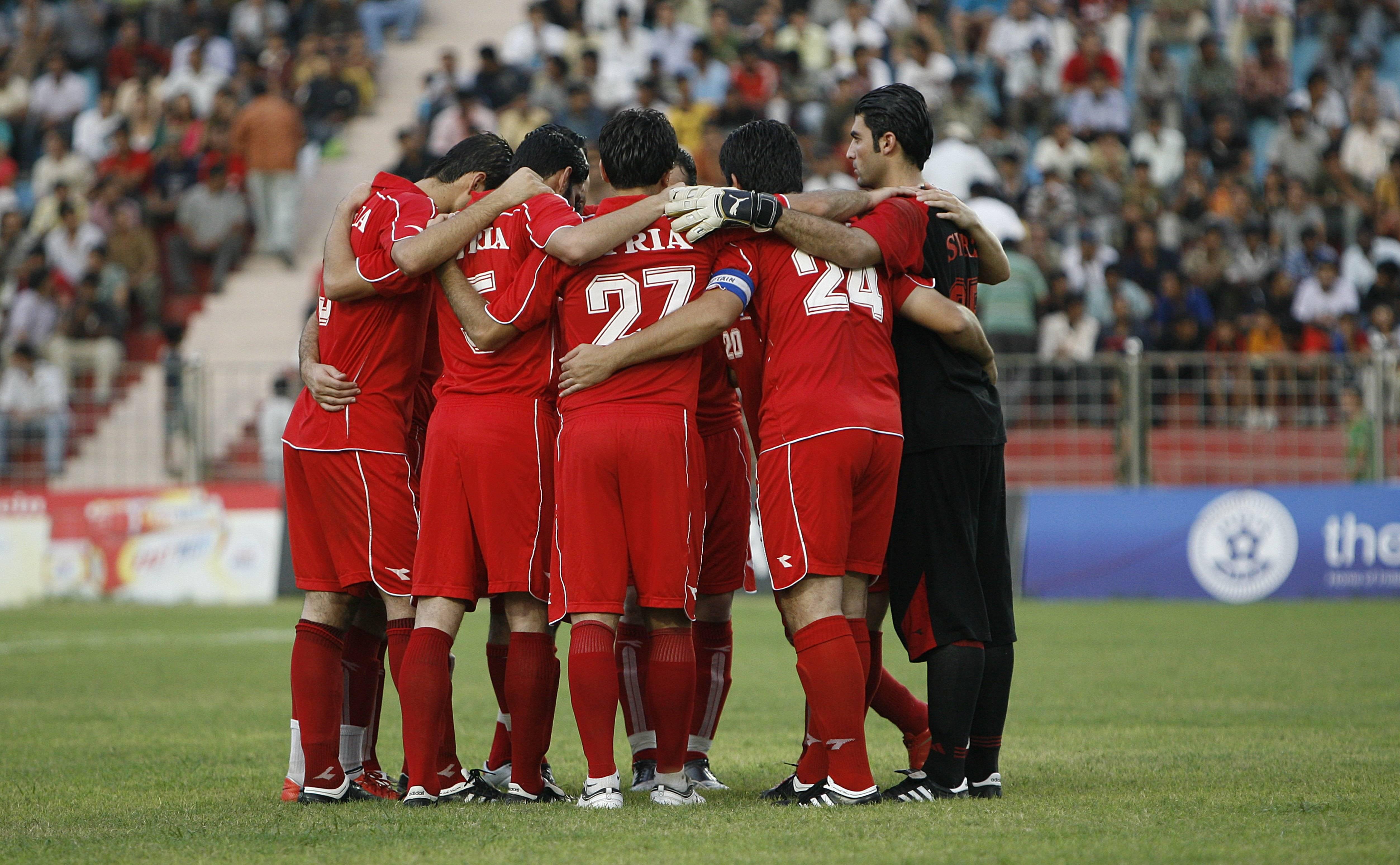 Syrian reach their best FIFA ranking in history