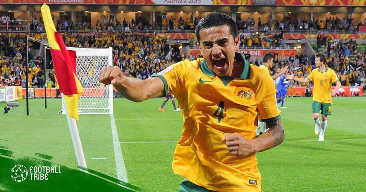Tim Cahill would not be drawn on his retirement plan