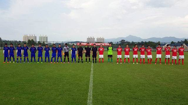 Vietnam U-19 team win big against Meizhou Meixian Techand in China