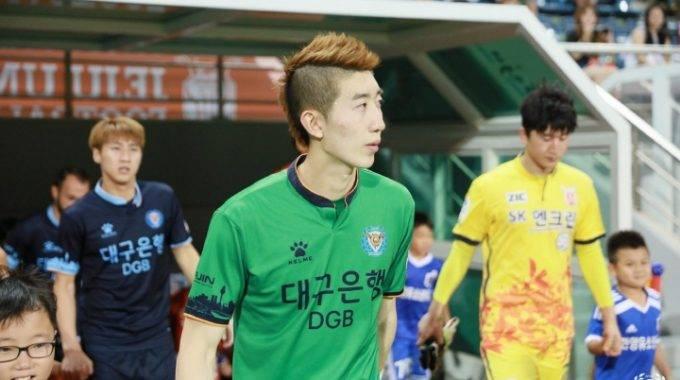 Cho Hyun-woo's popularity drives interest in his K League team Daegu