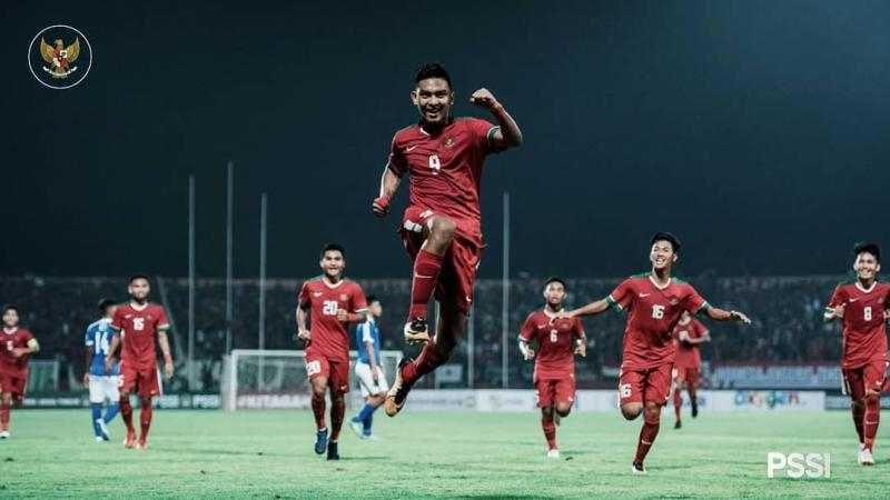 Indonesia U-19 reached the top of the table