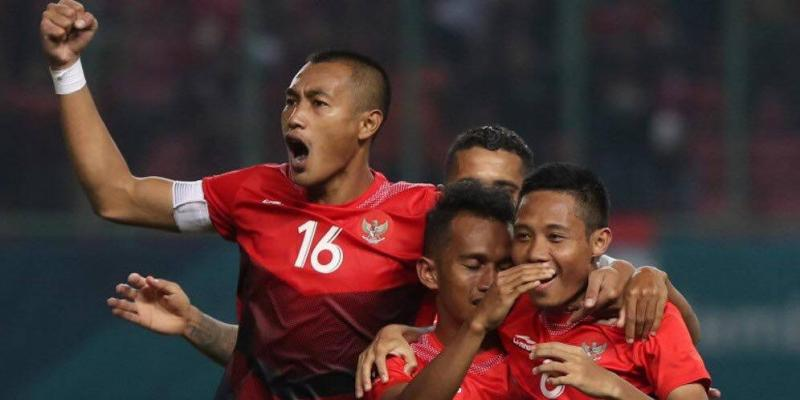 Asian games 2018 positives and negatives football tribe asia hosts indonesia celebrated progression from group a credit bola stopboris Choice Image