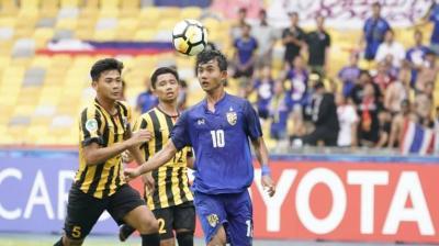 Thailand Strike Back at AFC U16 Championships