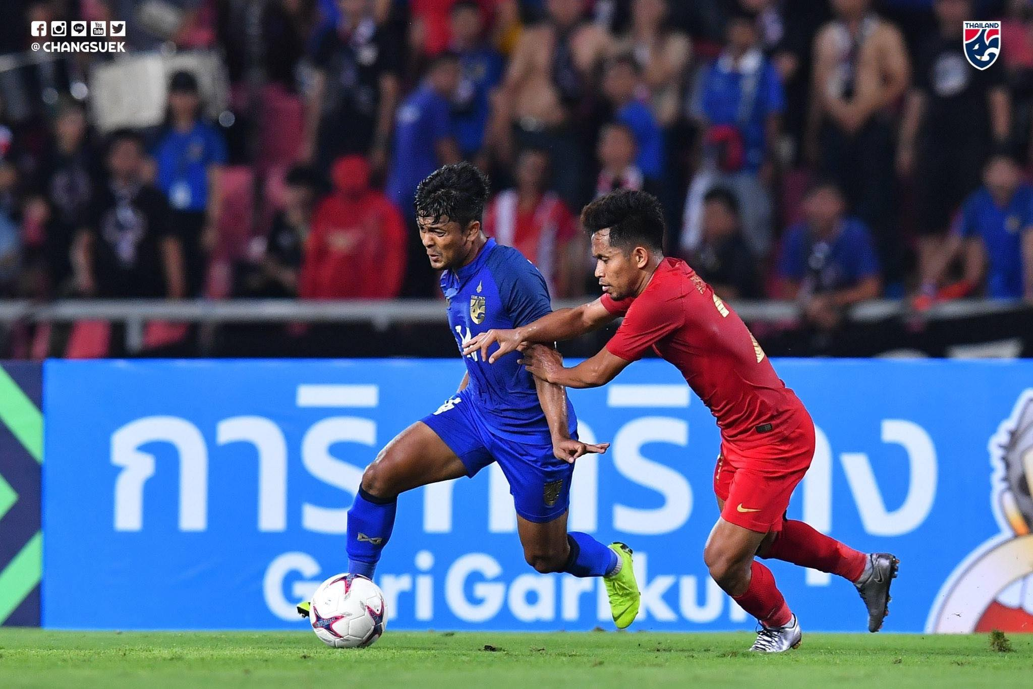 Thailand 4-2 Indonesia – The View from Thailand