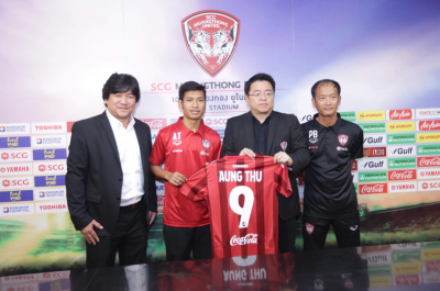 Myanmar Star Aung Thu Signs for Muangthong United