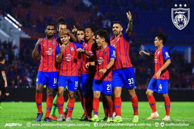 JDT Reclaim Super League Top Spot