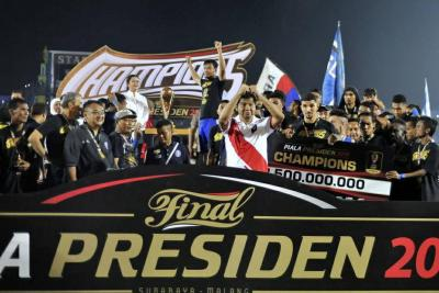 Arema FC Crowned Champions of the 2019 Piala Presiden
