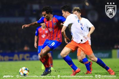 JDT Crash Out of Champions League With Loss To Shandong
