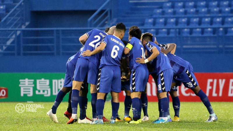 Binh Duong Demolish Shan United to Climb to Second in Group G
