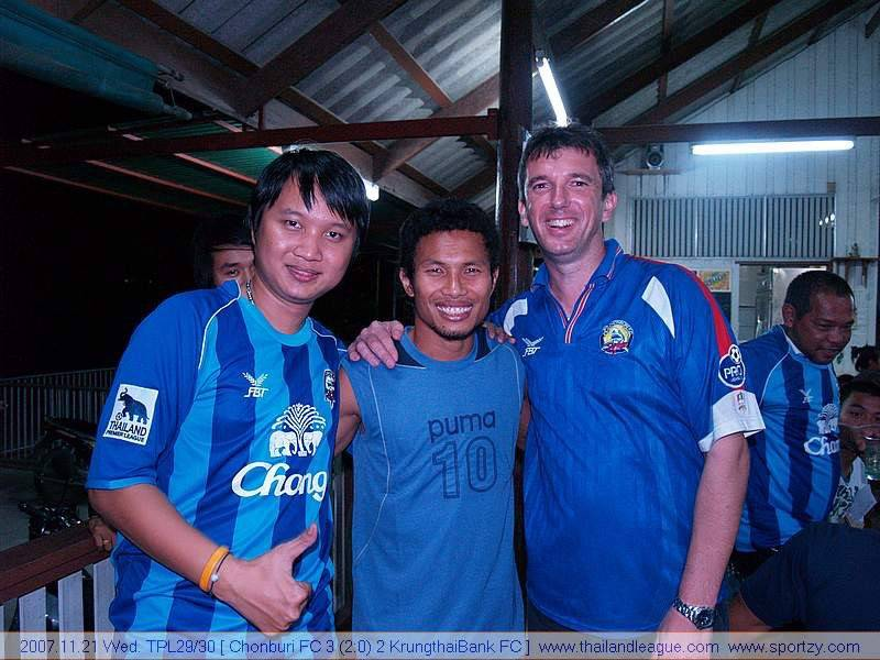 TRIBE TALK: Dale Farrington, Chonburi FC Supporter and Webmaster