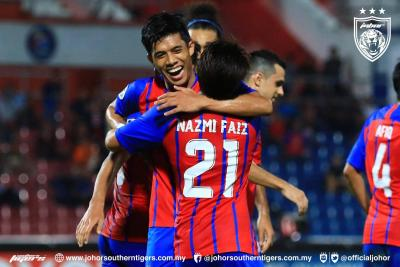 JDT Make History With Victory over Defending Champions