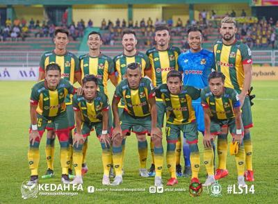 Pahang and Selangor Draw, Kedah Get Three Points