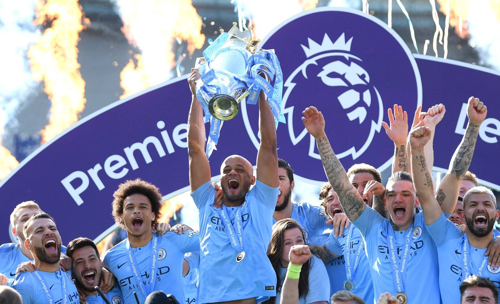 Manchester City Seal Premier League Title Win
