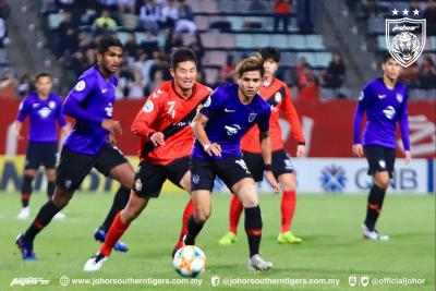 JDT Finish Group Stage With Loss to Gyeongnam