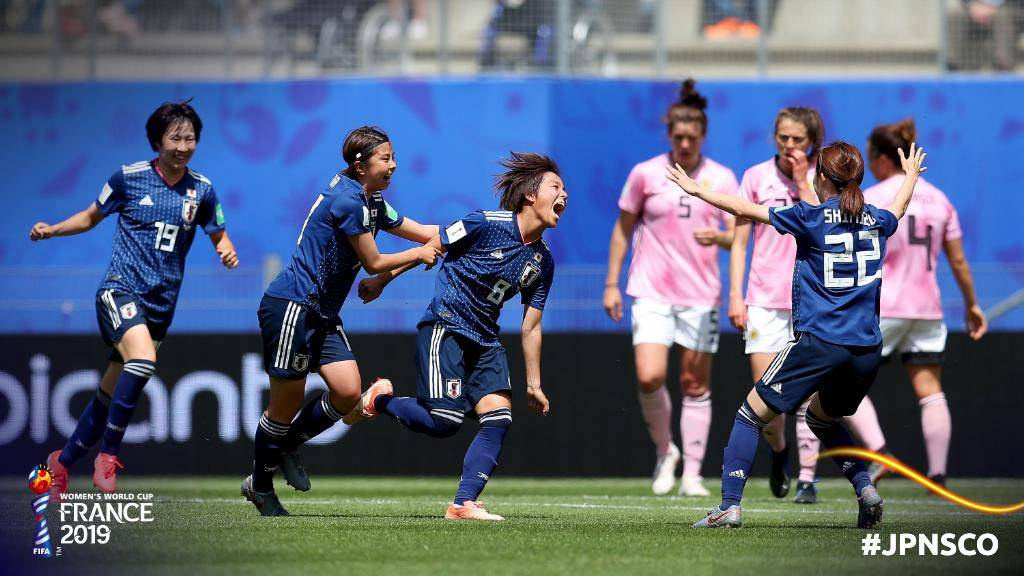 Japan Back on Track With Victory Over Scotland