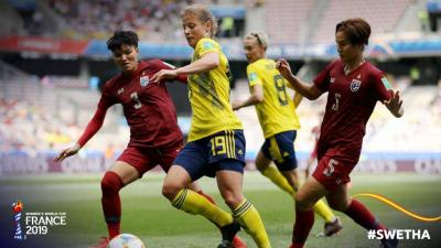 Chabakaew's World Cup Journey Ends in Nice