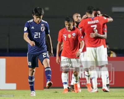 Japan Battered by Chile on Copa America Debut