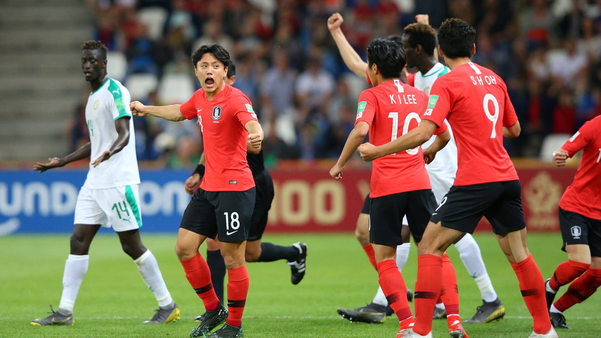 Korea Advance to Semi-Finals of U20 World Cup